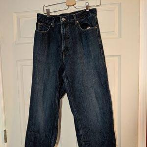 Men's J. Crew Flannel Lined Jeans 36x34